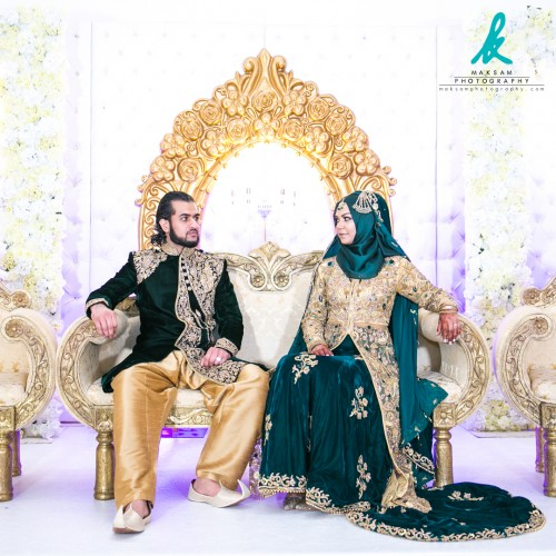 """""""Who you looking at!?""""  #Husband and #Wife sit beautifully on the stage composed for the #Photographer at an #EastLondon venue in #Leyton. A small intimate #PakistaniWedding I had a pleasure of #Photographing.  https://www.maksamphotography.com/asian-wedding-photography  Instagram: https://www.instagram.com/maksamphotography/ Facebook: https://www.facebook.com/maksamphotography Twitter: https://www.twitter.com/maksamphoto/ Pinterest: https://www.pinterest.com/maksamphoto/"""